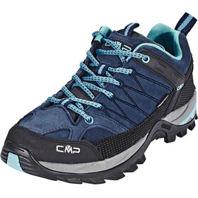CMP Campagnolo Rigel Low WP Trekking Shoes Women Black Blue-Clorophilla